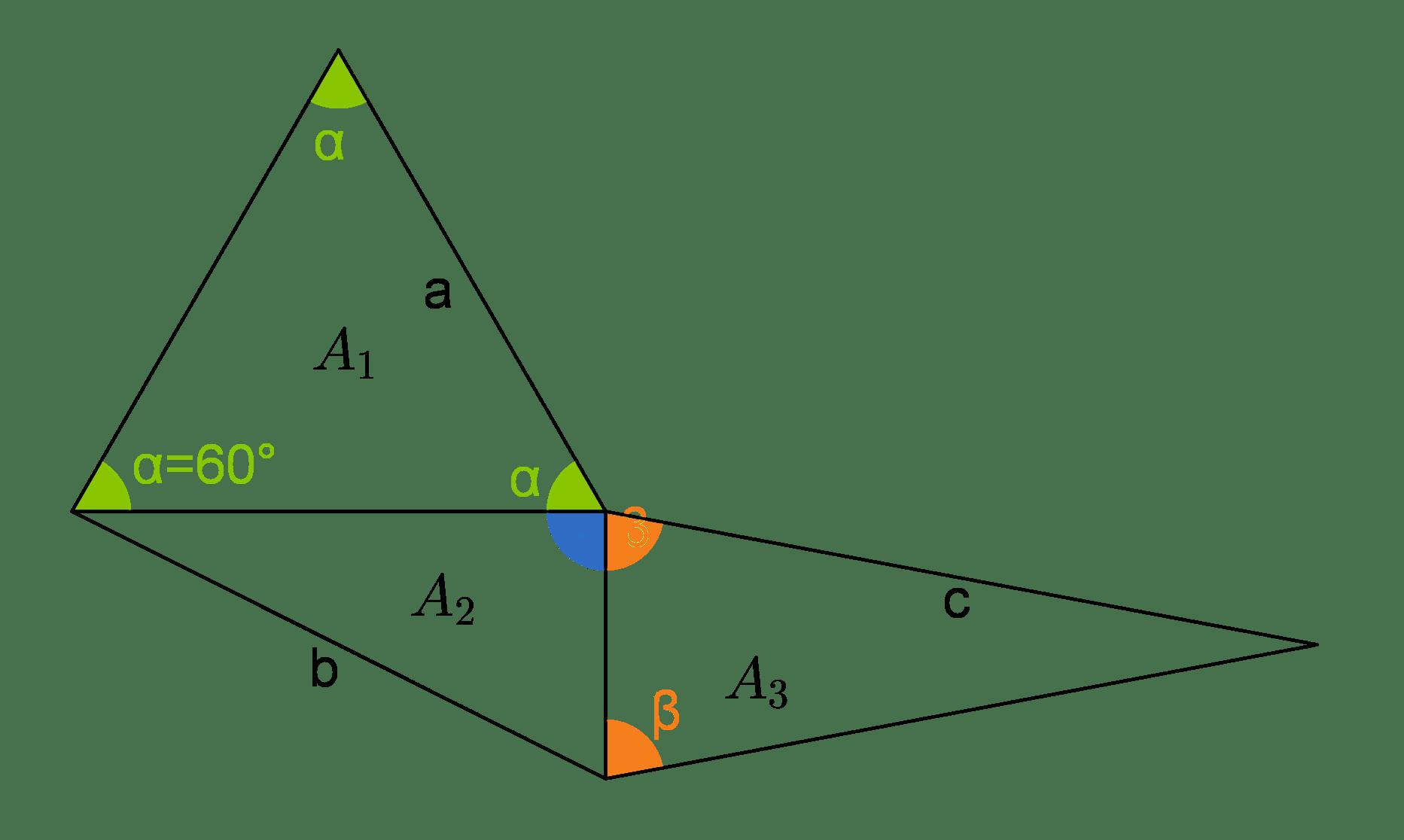 Dreieck: Vermischte Aufgaben (Digitales Schulbuch Mathe)