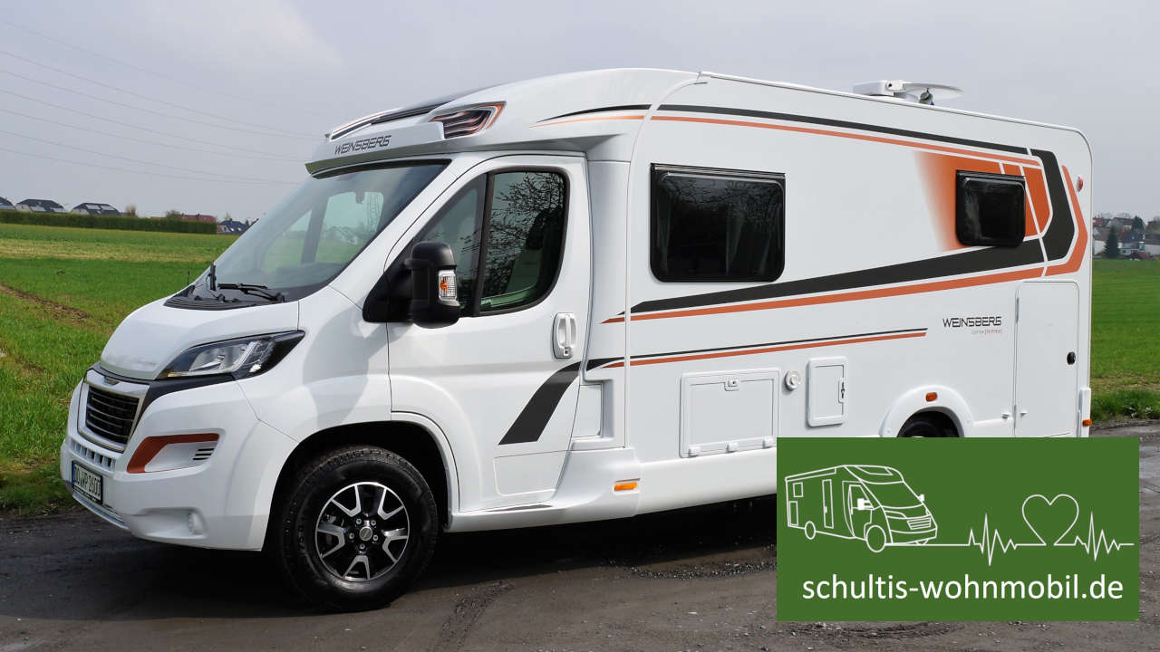 Schultis Wohnmobil Weinsberg Cara Compact Pepper vorn links (Modell 2019)