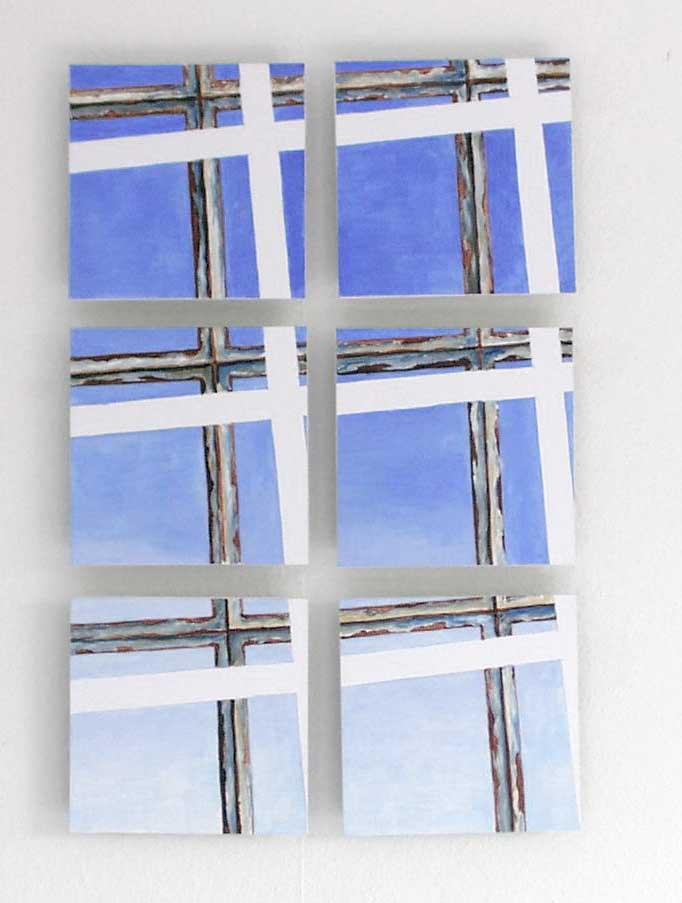 Acryl, Papier, Holz / Acrylic, paper, wood