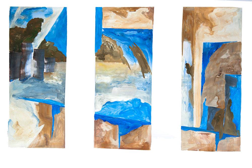 Acryl, Papier / Acrylic, paper