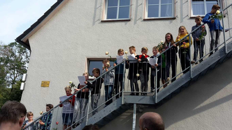 Verabschiedung Viertklässler Postdammschule 12.07 (3)