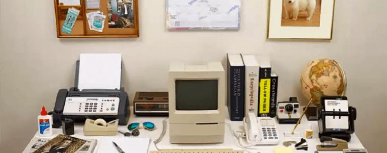 Evolution of the desk – Technologischer Fortschritt im Zeitraffer