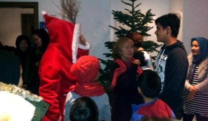 Die Weihnachtsfrau in Wernsdorf
