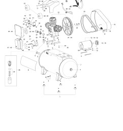 schulz oilless air compressor csw 60 420 15 hp 60 cfm [ 1495 x 2148 Pixel ]
