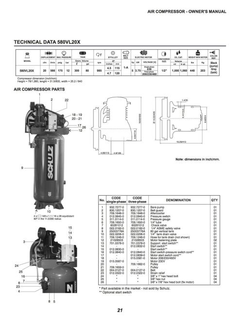 small resolution of schulz compressor wiring diagram for wiring library diagram h7schulz l series 5 hp 80 gallon two