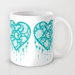 Dream Catcher Teal Mug