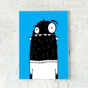 Lief monster poster