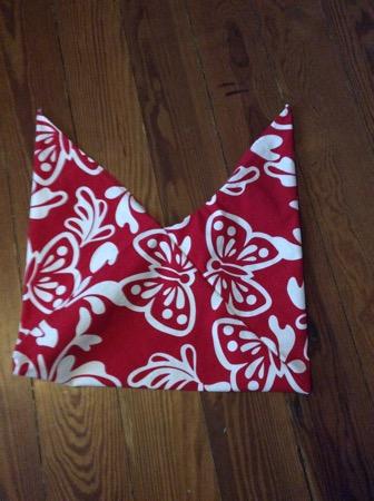 Origami Bag Aus Tschibo Tischläufer Nähen Schurrmurr