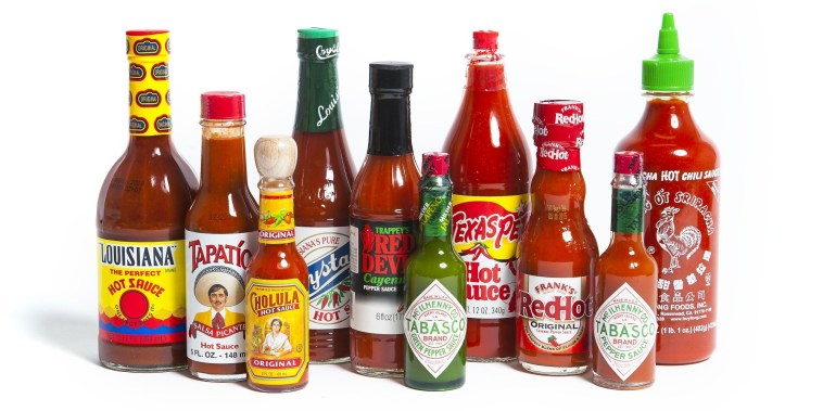 Hot Sauce Photo Shoot