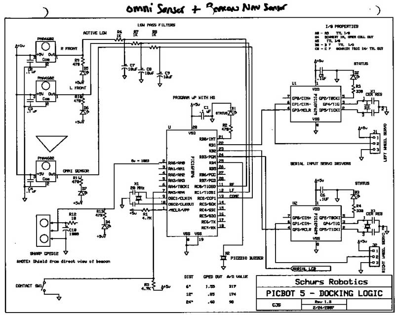 Terrific Schematic For The Logic Probe Click For A Larger Image Auto Wiring Cloud Hisonuggs Outletorg