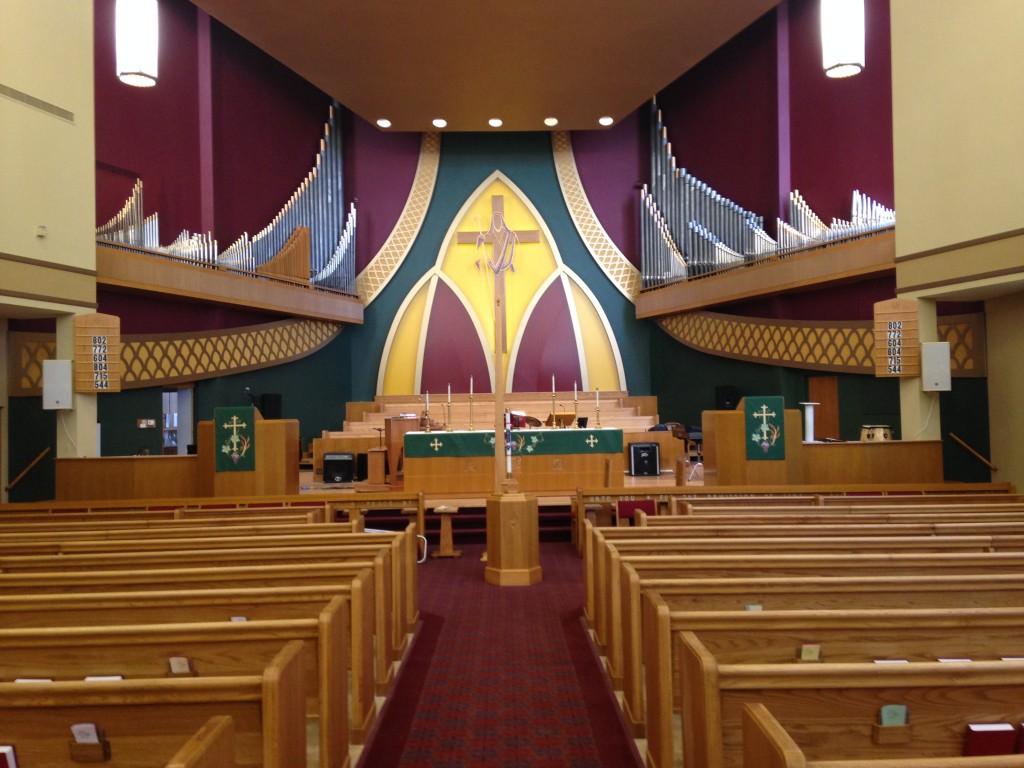 St John Lutheran Church Sanctuary Narthex  Chapel