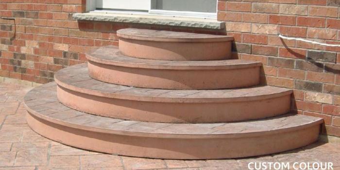 Stacking Steps Half Round Steps Hex Steps Schut S   Ready Made Outdoor Steps   Support   Creative   Patio   Design   Craigslist