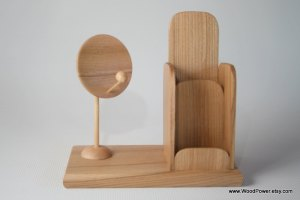 Wooden Remote Control Holders