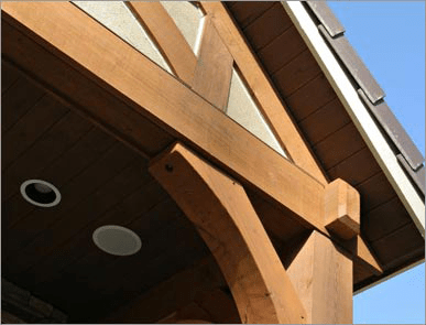 wood bracket