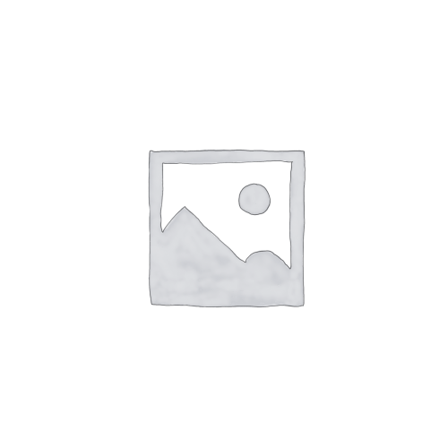Hout-beton schutting met 1 motiefplaat wit
