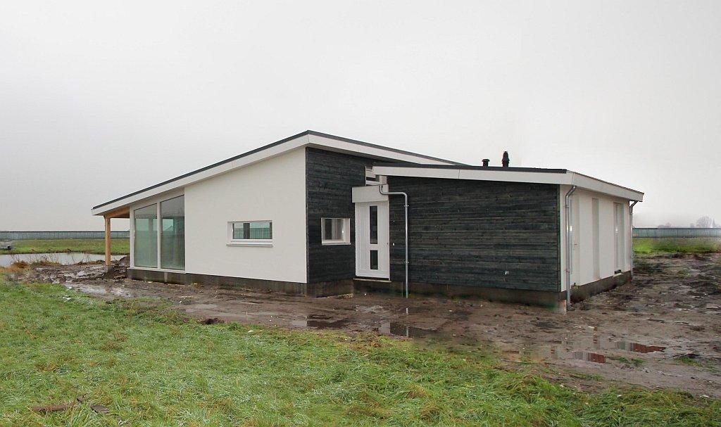 Ruime pensioen bungalow  KS160  Schuurwoning Bouwen