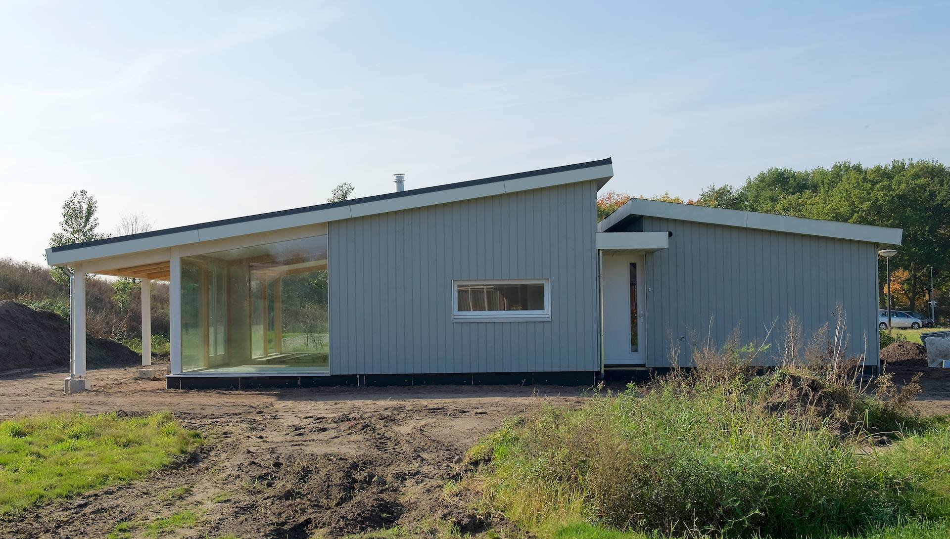 Luxe pensioen bungalow  KS180  Schuurwoning Bouwen