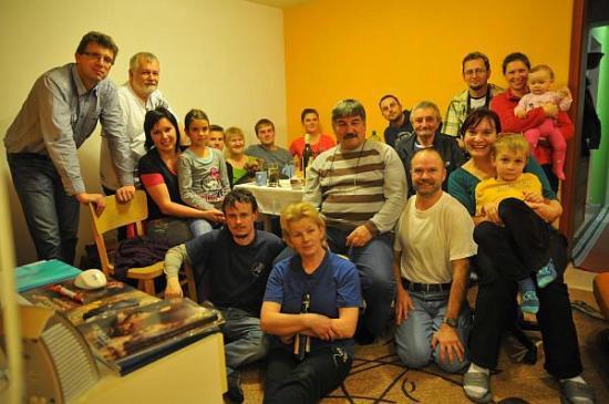 Účastníci na členskej schôdzi v r.2013