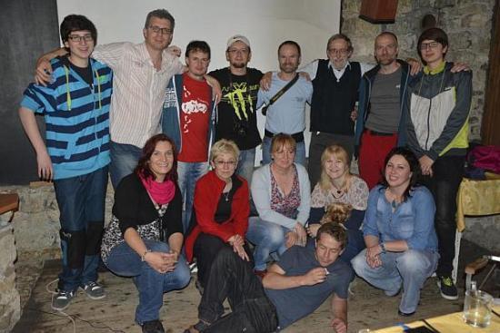Účastníci na členskej schôdzi v r.2014