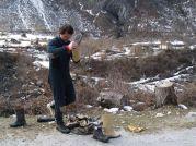 Príprava do jaskyne Shpanik