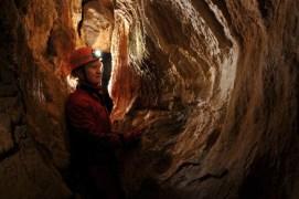 Výzdoba v jaskyni