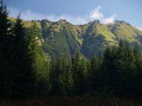 Červené vrchy z Tichej doliny