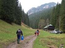 Ludrovská dolina - odbočka na tiesňavu Hučiaky