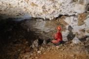 Prvá sienka v Medvedej jaskyni