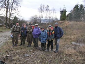 Účastníci akcie v Liptovskej Anne. Foto: Marián Soják