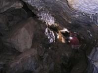 """Meranie-25.9.2004: """"Pseudokras"""" na dne jaskyne"""