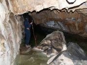 Podzemné jazero poteší každého jaskyniara