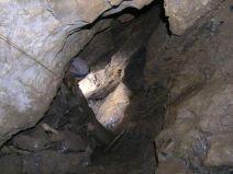 Stý meter v Jaskyni O-3 - meranie 10.11.2006