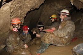 V Objavnej sienke Prosieckej jaskyne