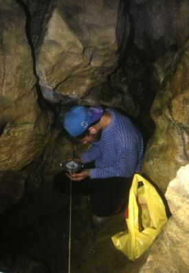 Zameriavanie jaskyne 22.10.2000