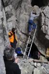 Skúška skladacieho rebríka