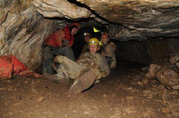 V Jánošíkovej jaskyni čakáme na otvorenie uzáveru