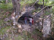 Západný vchod z vonka