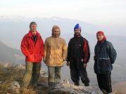 Kopáči na skale Čereňa