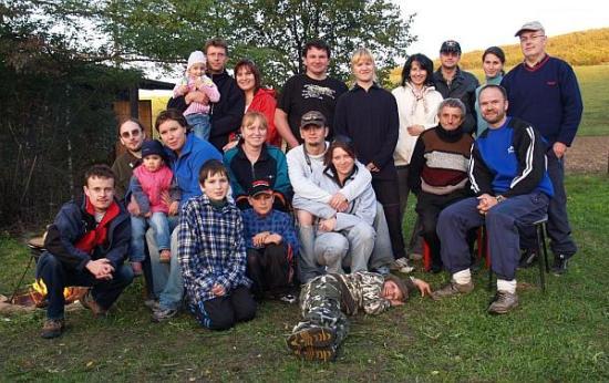 Účastníci na členskej schôdzi v r.2007