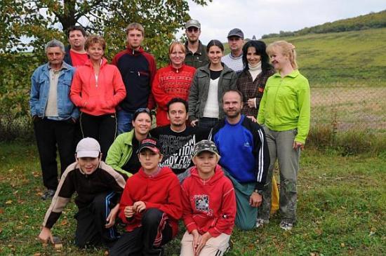 Účastníci na členskej schôdzi v r.2008