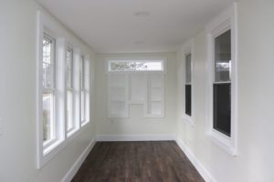Renovated Enclosed Front Porch