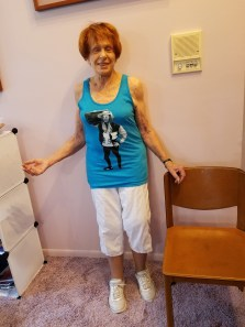 My nana lookin good as hell in schwamming cancer tank