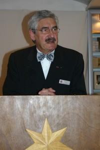 Präsident des DDO Rolf Harms