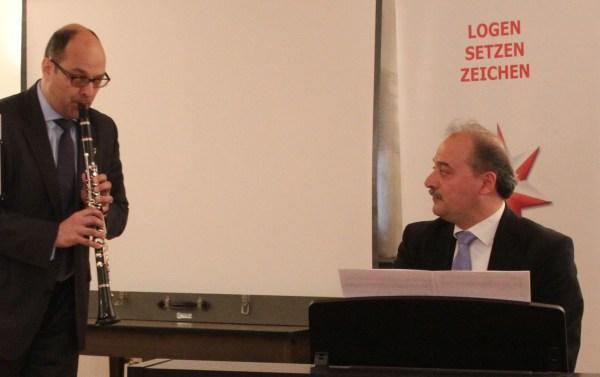 Peter Rüffer (Klarinette), Kurosh Zanjani (Piano)