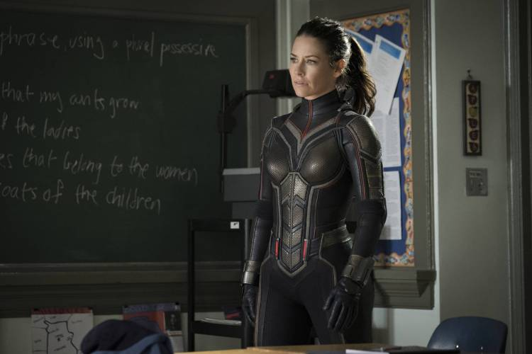 Marvel Studios ANT-MAN AND THE WASP..Hope van Dyne/The Wasp (Evangeline Lilly)..Photo: Ben Rothstein..©Marvel Studios 2018