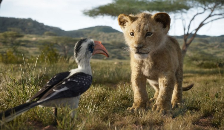 "THE LION KING - Featuring the voices of John Oliver as Zazu, and JD McCrary as Young Simba, Disney's ""The Lion King"" is directed by Jon Favreau. In theaters July 19, 2019...© 2019 Disney Enterprises, Inc. All Rights Reserved."