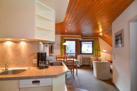 Küche und Wohn-/Essbereich