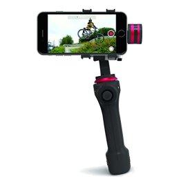 CamOneTec COIN90 Gravity Life 3D Handgimbal für Smartphone schwarz/rot -