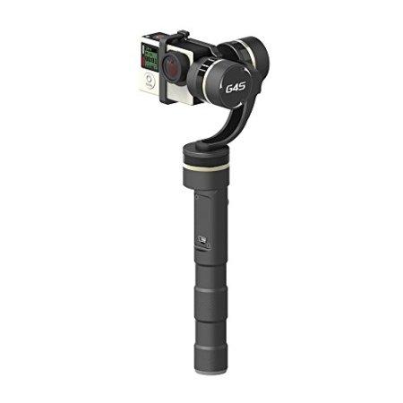 Feiyu FY G4S + 2.4G drahtlose Fernbedienung 3 Achse 360 Grad Abdeckung 4 Richtungs Joystick Hand Gimbal Brushless Griff Steadycam Dauerkamerahalterung für Gopro Hero 3 4 -