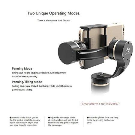 Feiyu G4 Plus + Fernbedienung 3 Achsen Bürstenlos Handheld Gimbal für Iphone 6 Plus/6/5s/5c und andere Smartphones mit Ähnliche Abmessungen -